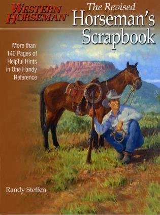 Cover image for the book Horseman's Scrapbook: His Handy Hints Combined In One Handy Reference, First Edition