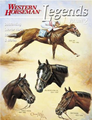 Cover image for the book Legends 2: Outstanding Quarter House Stallions And Mares, First Edition