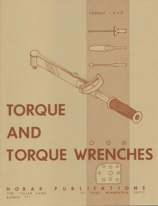Cover image for the book Torque and Torque Wrenches