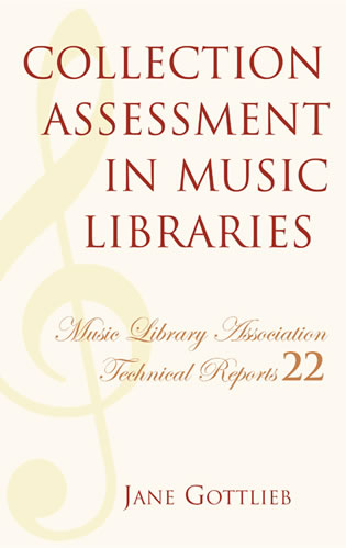 Cover image for the book Collection Assessment in Music Libraries