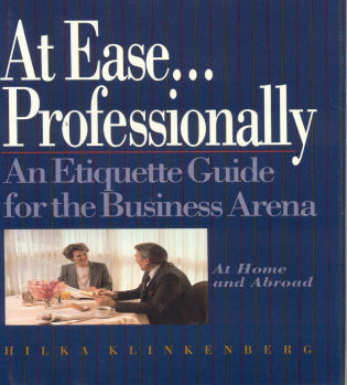 Cover image for the book At Ease... Professionally