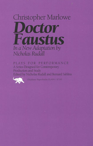 Cover image for the book Doctor Faustus: In a New Adaptation
