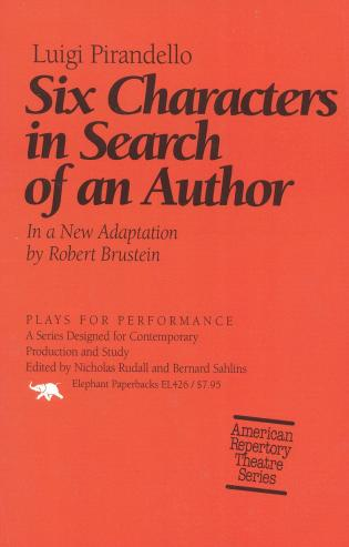 Cover image for the book Six Characters in Search of an Author