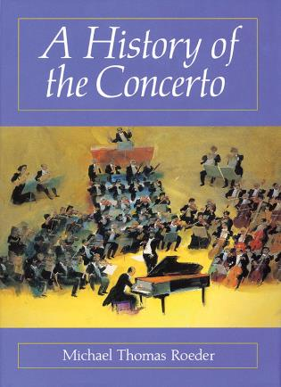 Cover image for the book A History of the Concerto