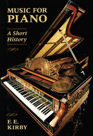 Cover image for the book Music for Piano: A Short History