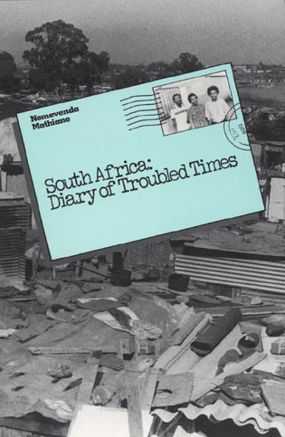 Cover image for the book South Africa: Diary of Troubled Times