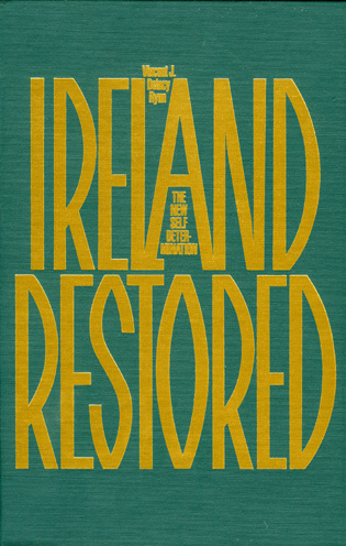 Cover image for the book Ireland Restored: The New Self-Determination