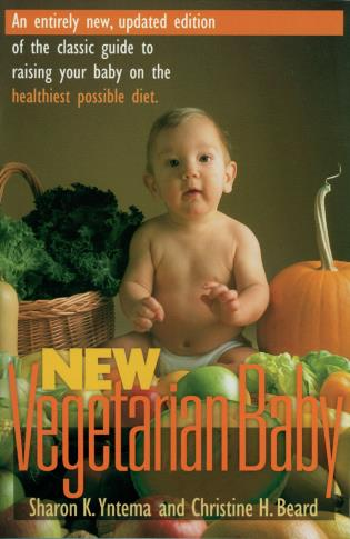 Cover image for the book New Vegetarian Baby