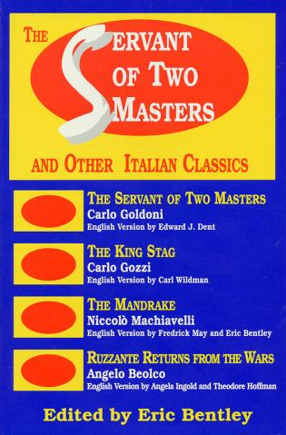 Cover image for the book The Servant of Two Masters: And Other Italian Classics