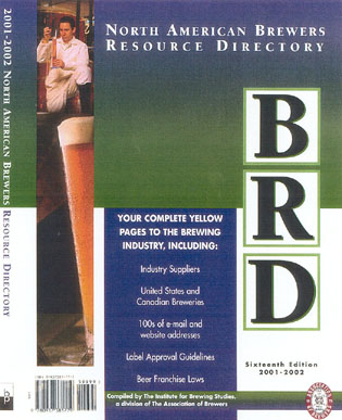 2001-2002 North American Brewer's Resource Directory