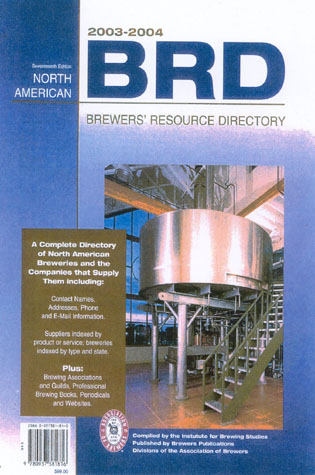 2003-2004 North American Brewer's Resource Directory