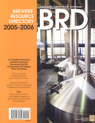 2005-2006 North American Brewers' Resource Directory