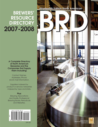 2007-2008 North American Brewers' Resource Directory