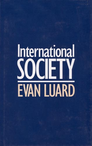 Cover image for the book International Society