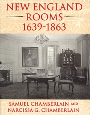 Cover image for the book New England Rooms 1639-1863