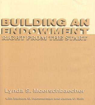 Cover image for the book Building an Endowment