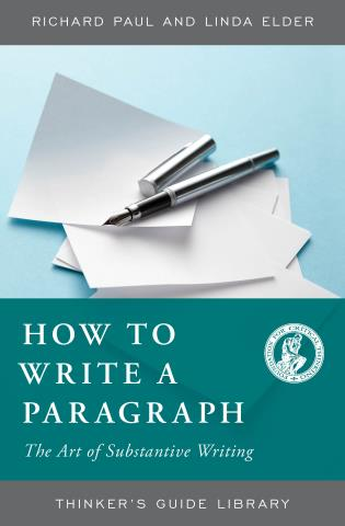 Cover image for the book How to Write a Paragraph: The Art of Substantive Writing