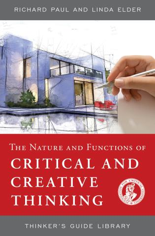 Cover image for the book The Nature and Functions of Critical & Creative Thinking
