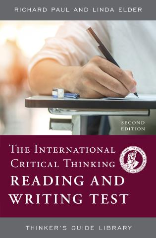 Cover image for the book The International Critical Thinking Reading and Writing Test, Second Edition