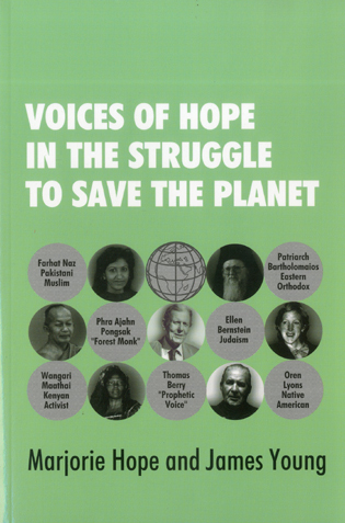 Cover image for the book Voices of Hope in the Struggle to Save the Planet