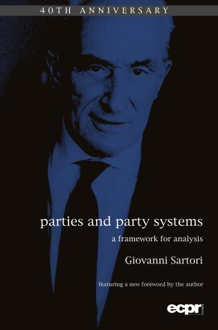 Cover image for the book Parties and Party Systems: A Framework for Analysis