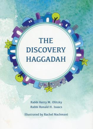 Cover image for the book The Discovery Haggadah