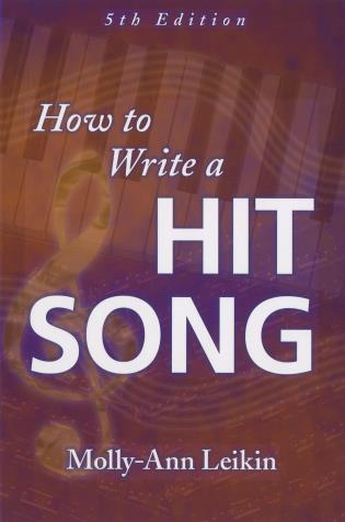 Cover image for the book How to Write a Hit Song, Fifth Edition