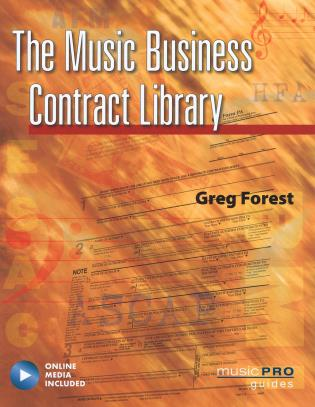 Cover image for the book The Music Business Contract Library