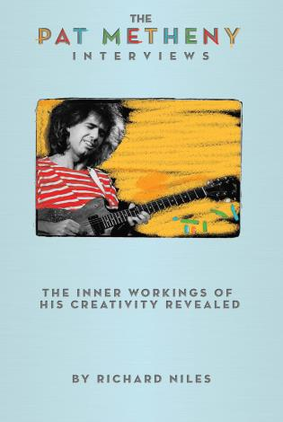 Cover image for the book The Pat Metheny Interviews