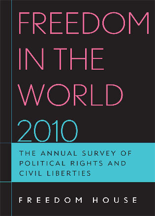 Cover image for the book Freedom in the World 2010: The Annual Survey of Political Rights and Civil Liberties