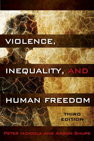 Cover image for the book Violence, Inequality, and Human Freedom, Third Edition