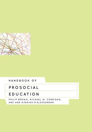 Cover image for the book Handbook of Prosocial Education