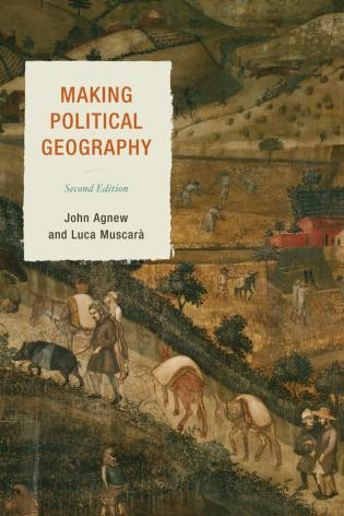 Cover image for the book Making Political Geography, Second Edition
