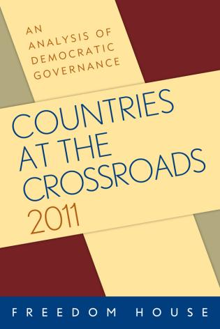 Cover image for the book Countries at the Crossroads 2011: An Analysis of Democratic Governance