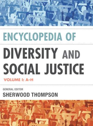 Cover image for the book Encyclopedia of Diversity and Social Justice, Two Volumes