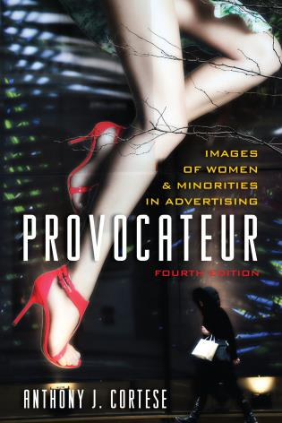 Cover image for the book Provocateur: Images of Women and Minorities in Advertising, Fourth Edition