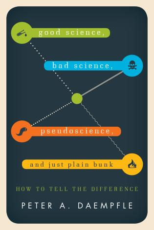 Cover image for the book Good Science, Bad Science, Pseudoscience, and Just Plain Bunk: How to Tell the Difference
