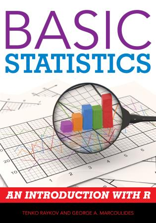 Cover image for the book Basic Statistics: An Introduction with R