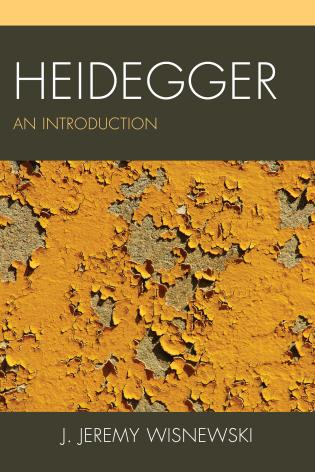 Cover image for the book Heidegger: An Introduction