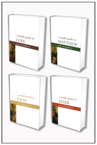 Cover image for the book Simple Guides to the Gospels Set