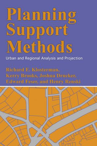 Cover image for the book Planning Support Methods: Urban and Regional Analysis and Projection