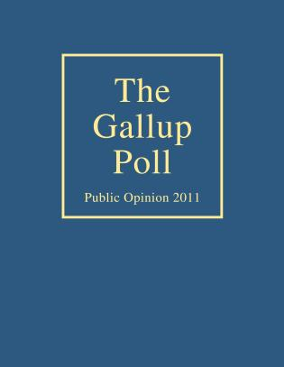 Cover image for the book The Gallup Poll: Public Opinion 2011