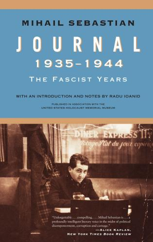 Cover image for the book Journal 1935–1944: The Fascist Years