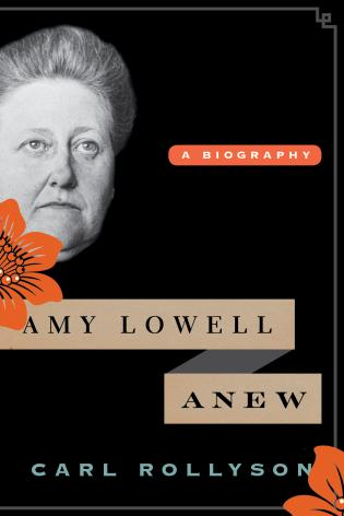 Book jacket for Amy Lowell Anew