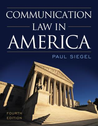 Cover image for the book Communication Law in America, Fourth Edition