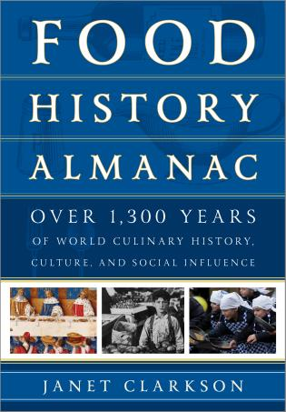 Cover image for the book Food History Almanac: Over 1,300 Years of World Culinary History, Culture, and Social Influence, 2 Volumes