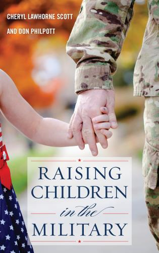 Cover image for the book Raising Children in the Military