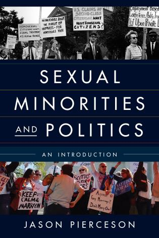Cover image for the book Sexual Minorities and Politics: An Introduction