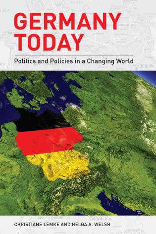 Cover image for the book Germany Today: Politics and Policies in a Changing World