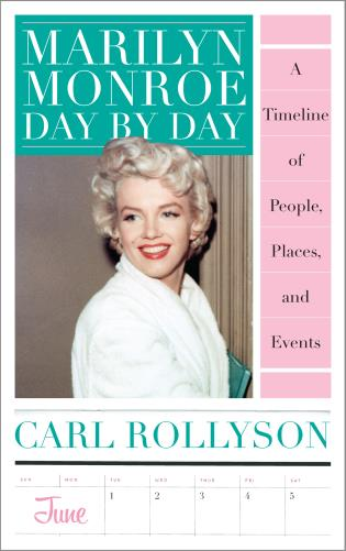 Book jacket for Marilyn Monroe by Day
